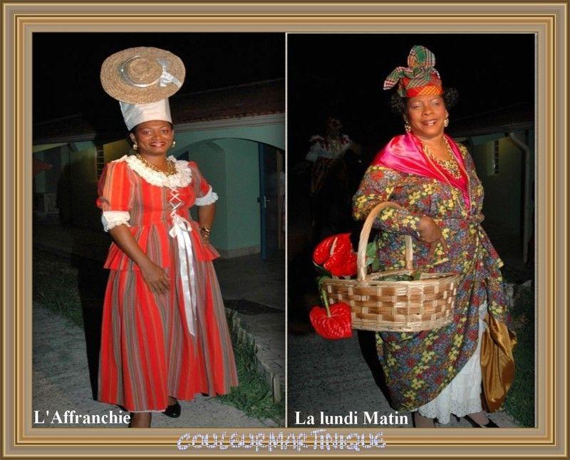 Costumes Antillais Traditionnels Suite Costume Traditionnel